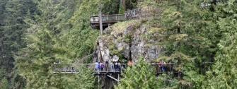 Cliffwalk at Capilano Suspension Bridge Park
