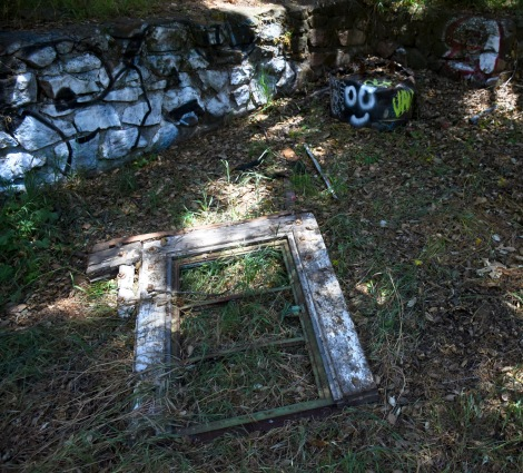 Discarded remains at Murphy Ranch