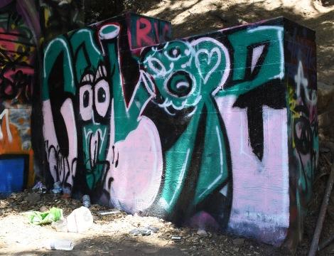Graffiti Detail at Murphy Ranch