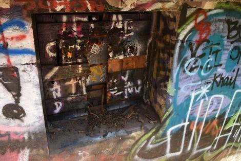 Graffiti Window at Murphy Ranch