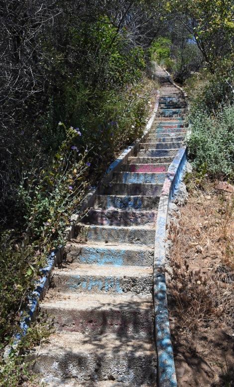 Stairways at Murphy Ranch