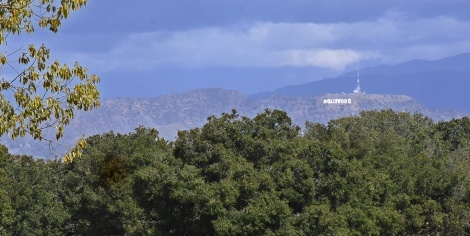 Cahuenga Peak and Hollywood sign