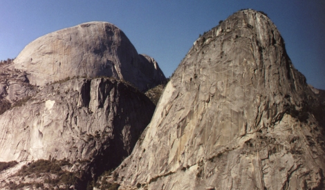 140 - Half Dome & Liberty Cap (crop ps)