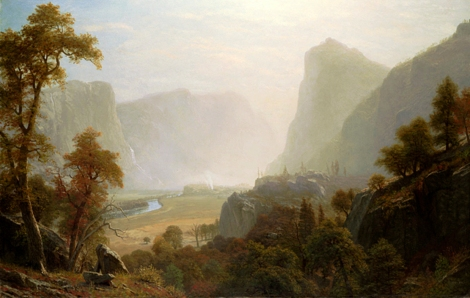 Hetch_Hetchy_Valley_From_Road,_Albert_Bierstadt (resize ps)