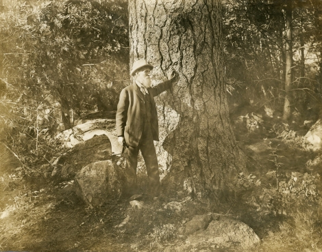 John_Muir,_probably_at_Hetch_Hetchy,_California (crop ps)