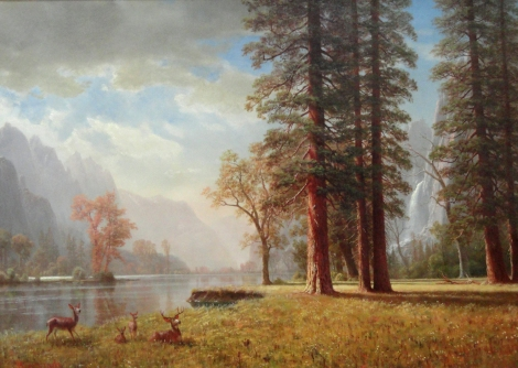 The_Hetch_Hetchy_Valley,_California,_by_Albert_Bierstadt,_undated_-_Museum_of_Fine_Arts,_Springfield,_MA_-_DSC03988 (crop ps)