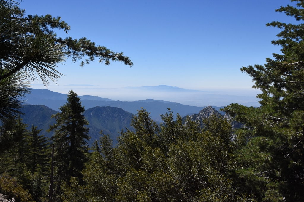 View from Waterman Mountain trail, looking south
