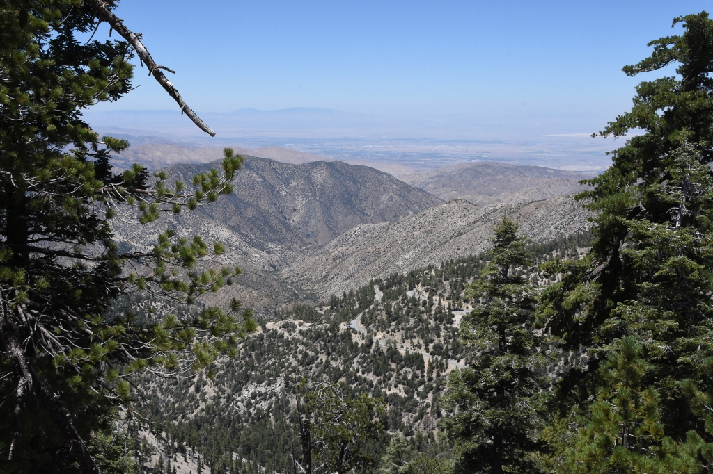 From Waterman Mountain looking northwest into the Antelope Valley.